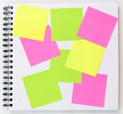 Sticky notes Stock Photos