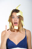 Sticky notes - post it Stock Photography