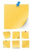 Sticky notes Royalty Free Stock Images