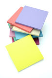 Sticky Notes Stacked Royalty Free Stock Image