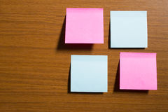 Sticky notes Royalty Free Stock Image