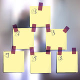 Sticky notes wallpapers Royalty Free Stock Photos
