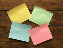 Sticky Notes Stock Images