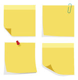 Sticky Notes Stock Photography
