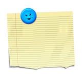 Sticky paper Royalty Free Stock Image