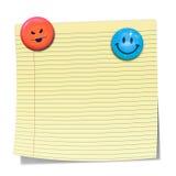 Sticky paper Stock Photo