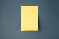 Sticky paper on the wall Royalty Free Stock Photo