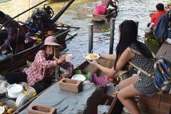Sticky Rice in Bangkok. Bangkok's specialyty: Sticky Rice Royalty Free Stock Photo