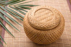 Sticky rice box,be the  light while,member northeast in which,the Royalty Free Stock Image
