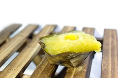 Sticky Rice Cake or Nian Gao Royalty Free Stock Image