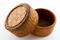Sticky rice container. Thai laos bamboo sticky rice container Royalty Free Stock Image