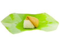 Sticky rice desert Thai style Stock Images
