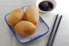 Sticky rice dumpling Stock Photos
