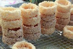 Sticky rice fried asia food Stock Photo