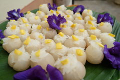 Sticky Rice In Longan Stock Image