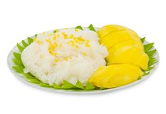 Sticky Rice Mango Stock Images