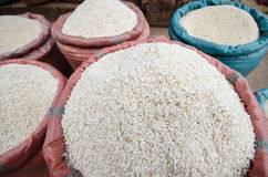 Sticky rice in wet market Royalty Free Stock Image