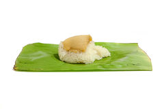 Free Sticky Rice With Steamed Custard Royalty Free Stock Photo - 56087575