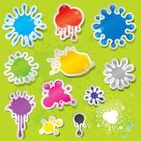 Sticky Splashes Stock Photography