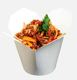 Sticky sweet chili beef Royalty Free Stock Photo