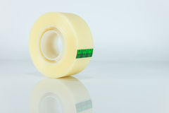 Sticky tape roll Royalty Free Stock Photos