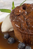 Sticky Toffee Pudding Cake Royalty Free Stock Photos