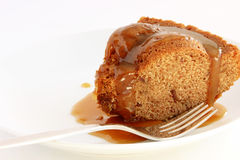 Sticky toffee pudding Stock Images