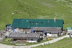 Stie mountain pasture on Brauneck Stock Photography
