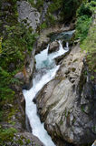 Stieber waterfalls Royalty Free Stock Photos