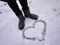 Stiefel das ugg der Frauen Details, Nahaufnahme, Winterwetter und Warmstarte lizenzfreies stockfoto