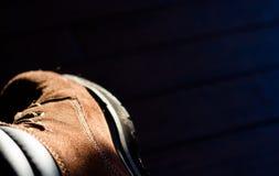 Stiefel in The Sun-Strahlen Stockfotos