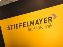 Stiefelmayer företagstecken arkivbild