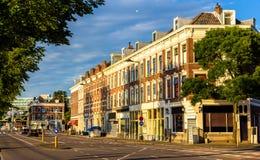 Stieltjesstraat, una calle en Rotterdam Imagen de archivo