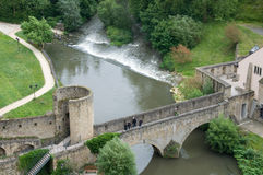 Stierchen Bridge, Luxembourg Stock Photos