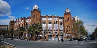 Stieregevechtarena in Barcelona royalty-vrije stock fotografie