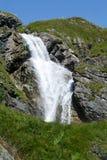 Stieren waterfall over Engelberg Stock Image