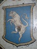Stierenmascotte Royalty-vrije Stock Fotografie