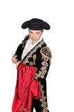 Stierenvechter royalty-vrije stock afbeelding