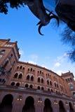 Stierkampfarena in Madrid, Las Ventas Lizenzfreies Stockbild