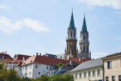 Stift克洛斯特新堡在维也纳 免版税库存照片