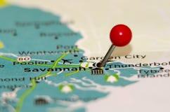 Stift der Savanne GA lizenzfreies stockfoto