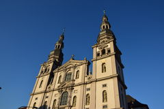 The STIFT HAUG church in Würzburg, Germany Royalty Free Stock Photos
