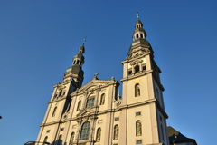 The STIFT HAUG church in Würzburg, Germany Stock Photography