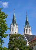 Stift Klosterneuburg, Viena, Austria fotos de archivo