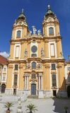 Stift Melk или аббатство Melk в Австрии Стоковые Фото