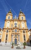 Stift Melk or Melk Abbey in Austria Royalty Free Stock Photo
