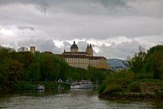 Stift Melk abbotskloster, Wachau _ Arkivfoto
