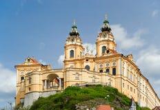 Stift Melk en Autriche Photos libres de droits