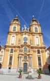 Stift Melk oder Melk-Abtei in Österreich Lizenzfreies Stockfoto