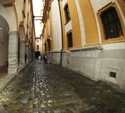 Stift Melk - stone passage Stock Images
